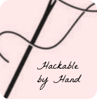hackable by hand button