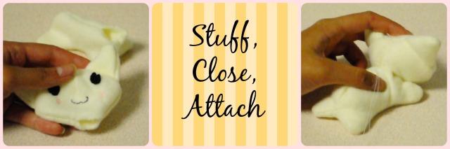stuff, close, attach