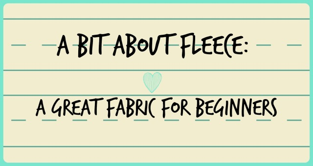 A bit about fleece