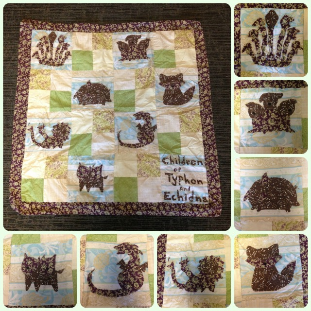 monster quilt compiled