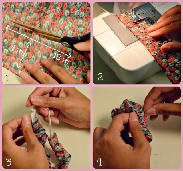 scrunchie tutorial edited