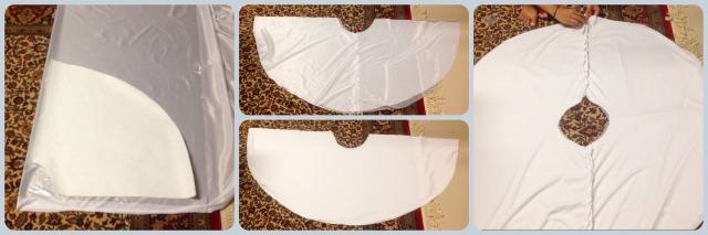 assembling skirt