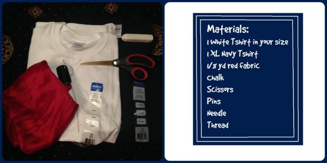 sailor girl materials