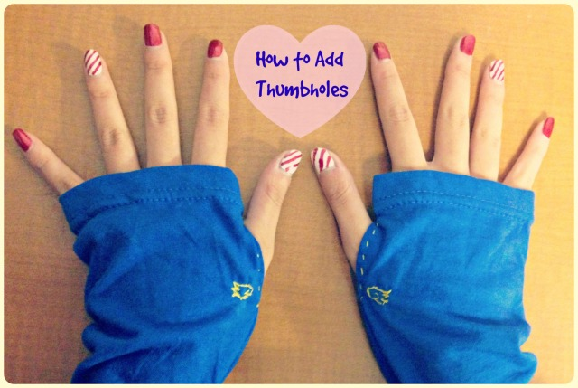 diy thumbholes cover
