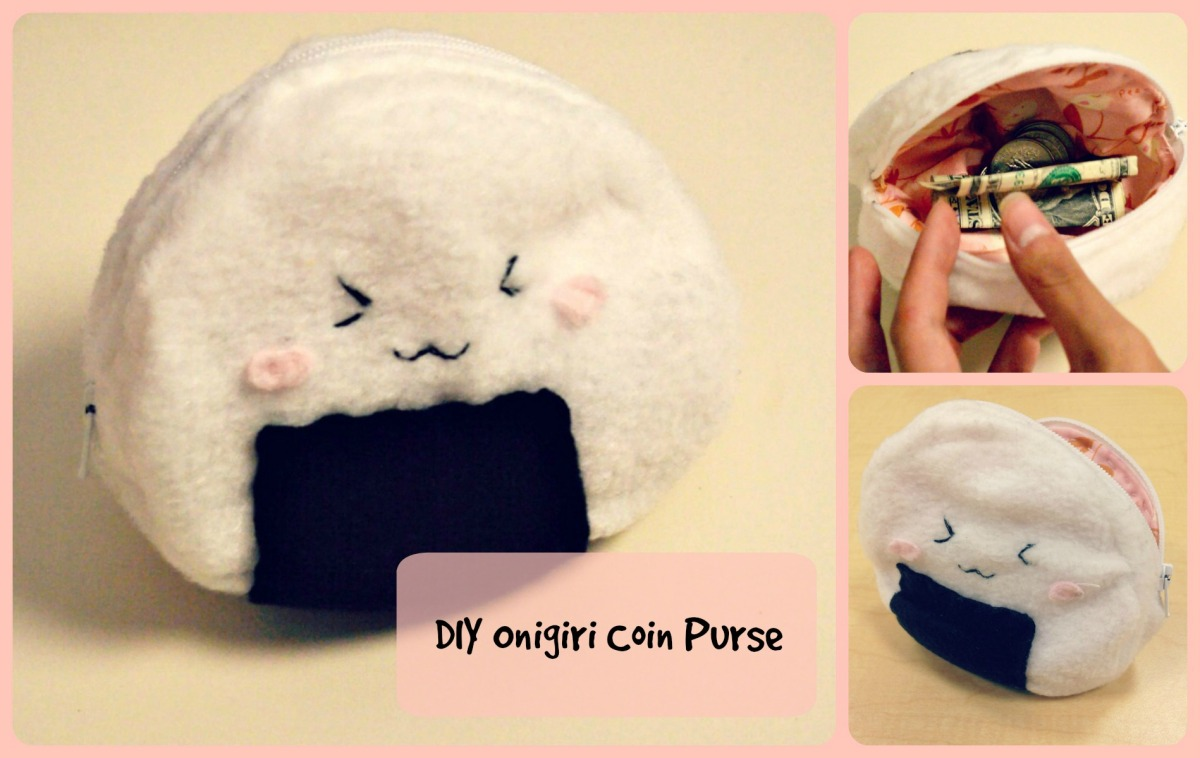 DIY Onigiri Coin Purse