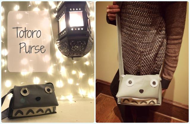 Totoro purse cover