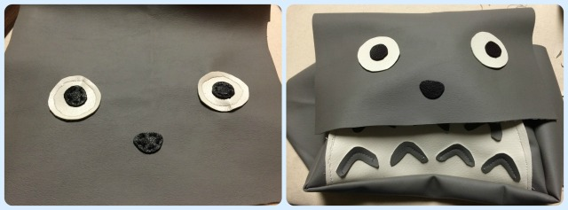 totoro purse face