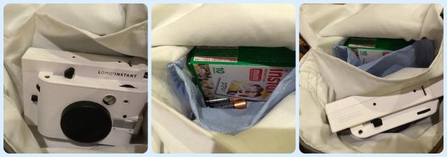 totoro purse insides