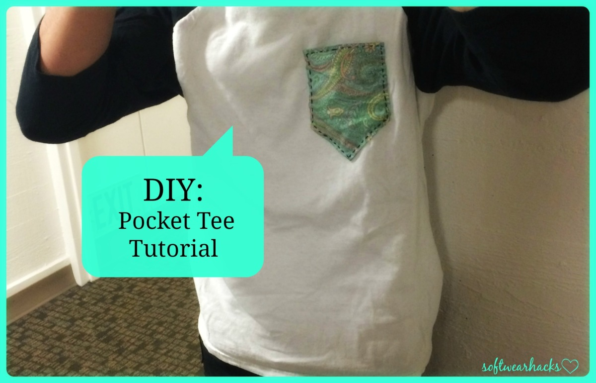 DIY Patterned Pocket Tee Tutorial
