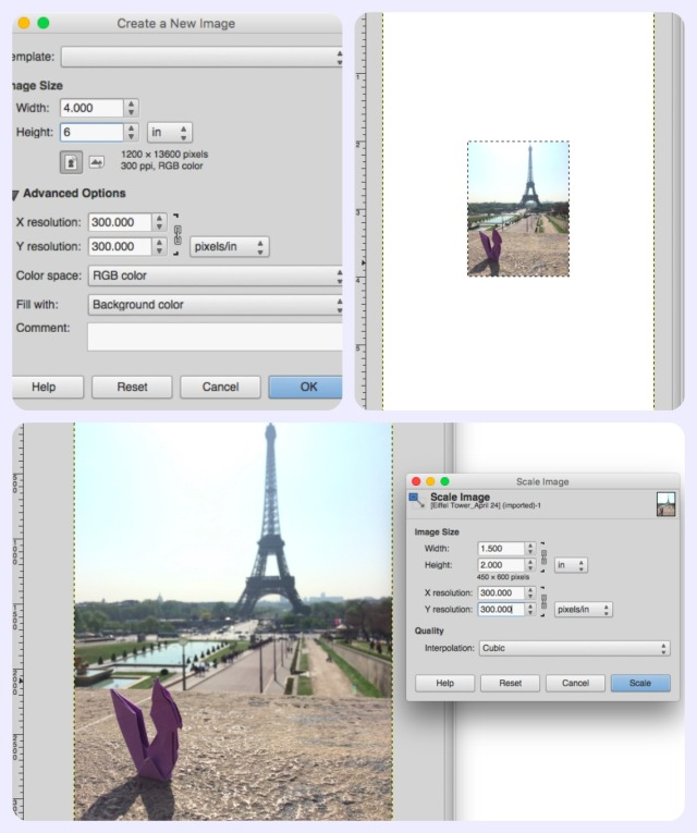 photo editing step