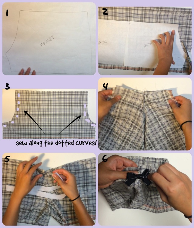 pajama pants instructions